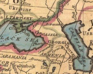 מפת קווקז